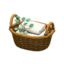 Rattan Towel Basket