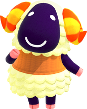 Vesta, an Animal Crossing villager.
