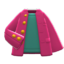 After-School Jacket (Berry Red) NH Icon.png