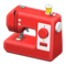 Sewing Machine (Red) NH Icon.png