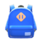 Town Backpack (Blue) NH Icon.png