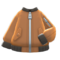 Bomber-Style Jacket (Brown) NH Icon.png
