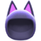 Cat Cap (Navy Blue) NH Icon.png