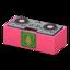 DJ's Turntable (Pink - Emblem Logo)