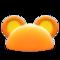 Flashy Round-Ear Animal Hat (Orange) NH Icon.png
