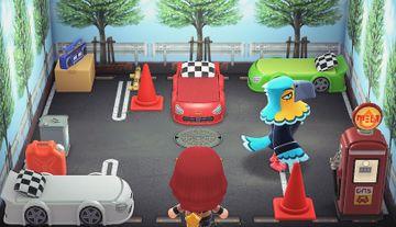 Interior of Keaton's house in Animal Crossing: New Horizons