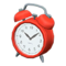 Old-Fashioned Alarm Clock (Red) NH Icon.png