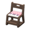 Study Chair (Dark Brown - Pink) NH Icon.png