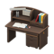 Study Desk (Dark Brown) NH Icon.png
