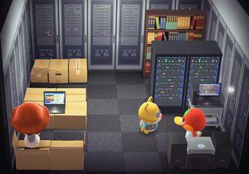 Interior of Graham's house in Animal Crossing: New Horizons
