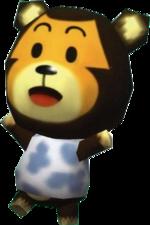 Artwork of Poko the Bear cub