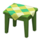 Wooden Mini Table (Green - Green) NH Icon.png