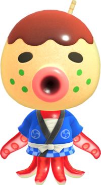 Zucker, an Animal Crossing villager.