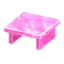 Frozen Table (Ice Pink)