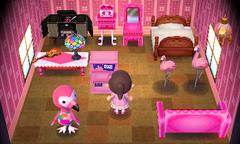 Flora's house interior