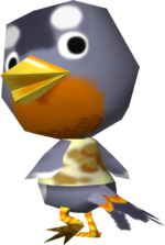 Artwork of Otis the Bird