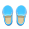 Slip-On Loafers (Light Blue) NH Icon.png