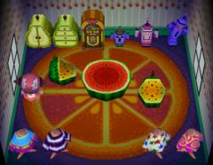 Zoe's house interior