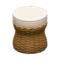 Rattan Stool (Brown) NH Icon.png