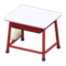 School Desk (White & Red) NH Icon.png