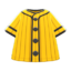 Baseball Shirt (Yellow) NH Icon.png