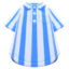 Vertical-Stripes Shirt (Blue) NH Icon.png
