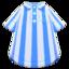 Vertical-Stripes Shirt (Blue) NH Icon.png