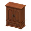 Antique Wardrobe (Brown) NH Icon.png