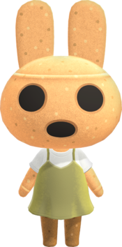 Coco, an Animal Crossing villager.