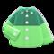 Color-Block Dress Shirt (Green) NH Icon.png