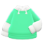 Tee-Parka Combo (Mint) NH Icon.png