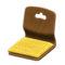 Floor Seat (Natural - Mustard Yellow) NH Icon.png