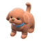Puppy Plushie (Red) NH Icon.png