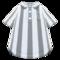 Vertical-Stripes Shirt (Gray) NH Icon.png