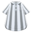 Vertical-Stripes Shirt (Gray) NH Icon.png