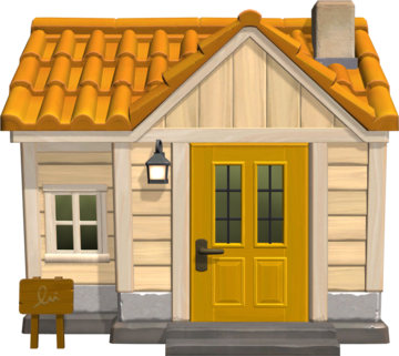Exterior of Tammy's house in Animal Crossing: New Horizons