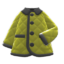 Quilted Down Jacket (Olive) NH Icon.png