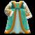 Renaissance Dress (Green) NH Icon.png