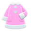 Terry-Cloth Nightgown (Pink) NH Icon.png