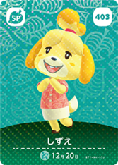 403 Isabelle amiibo card JP.png
