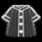 Baseball Shirt (Black) NH Icon.png