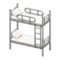 Bunk Bed (Silver - White) NH Icon.png