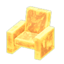 Frozen Chair (Ice Yellow)
