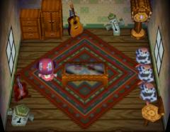 Belle's house interior