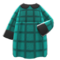 Loose Fall Dress (Peacock Blue) NH Icon.png