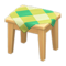 Wooden Mini Table (Light Wood - Green) NH Icon.png
