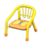 Baby Chair (Yellow - Butterfly)