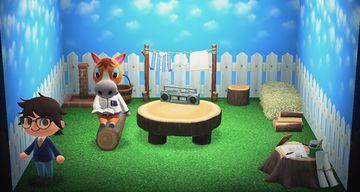 Interior of Elmer's house in Animal Crossing: New Horizons