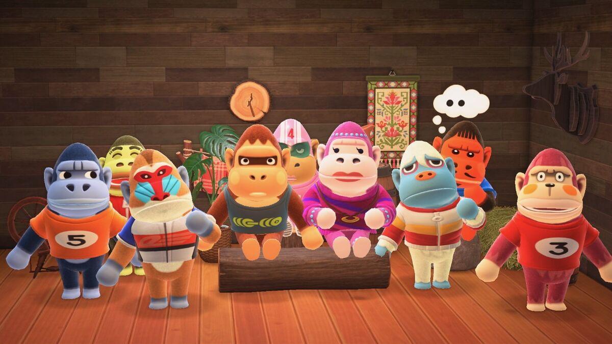 Gorilla - Nookipedia, the Animal Crossing wiki