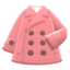 Short Peacoat (Pink) NH Icon.png